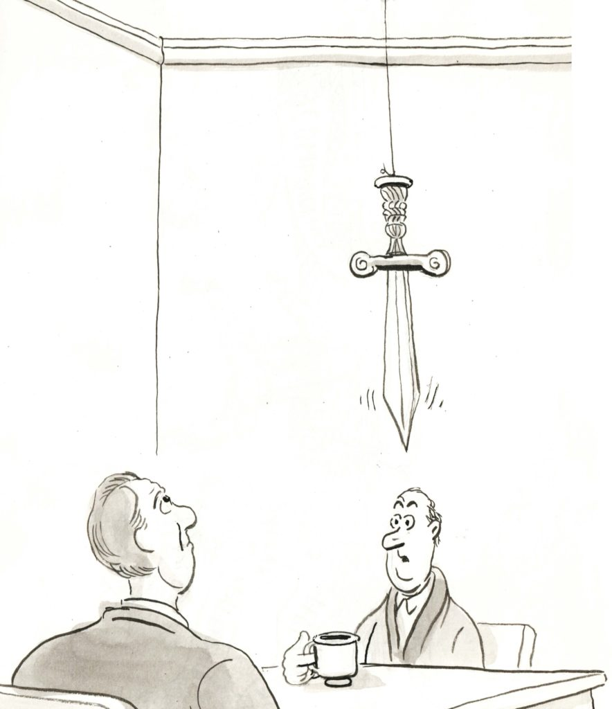The Sword of Damocles is Dangling Over Financial Markets